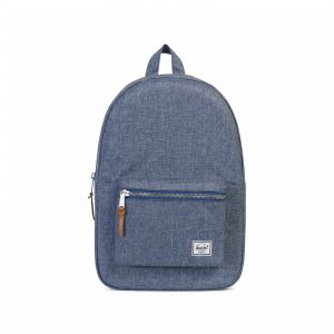 Herschel 10005-01570-OS Settlement Unisex Casual Daypacks Backpack - Dark  Chambray Crosshatch 7ee8ca6a8c2b1