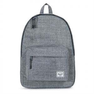 ed3a3b491d16 Herschel 10500-00919-OS Classic Unisex Casual Daypacks Backpack - Raven  Crosshatch