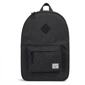 c1ea920c9 Herschel 10007-02093-OS Heritage Unisex Casual Daypacks Backpack - Black  Crosshatch/Black