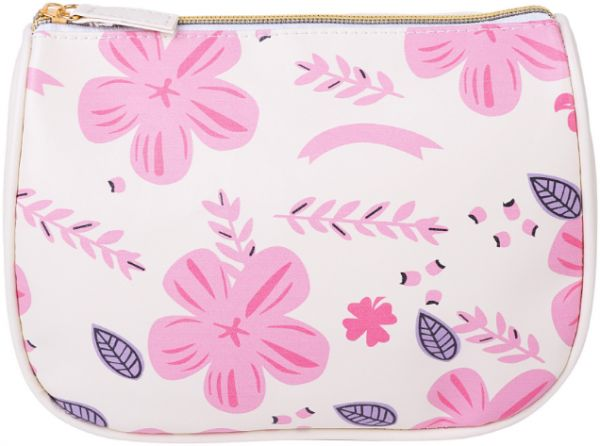 9af680326b White Flamingo PU Portable Drawstring Cosmetic Bag Large Capacity Lazy  Travel Makeup Pouch magic Toiletry Bag for Womens Girls