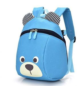 b98f5c11829151 Bear Small Toddler School Backpack With Leash Children Kids Backpack Bag  Mini Travel Bag for Baby Girl Boy 1-6 Years Old