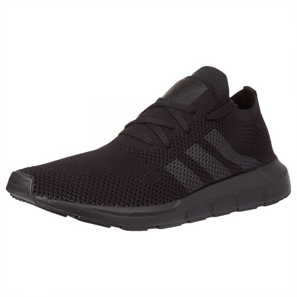 adidas Originals Swift Prime Knit Running Shoes for Men - Core Black   Grey  Five  ef55cc873f