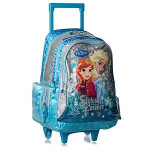 d65bb5da2aad1 Disney Frozen School Trolley Bag for Girls - Black