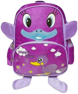 3e9bac9429 Nursery and school backpack   3D duck design  purple