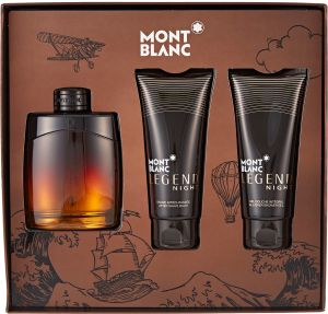 buy online 1cfc6 22629 Legend Night by Mont Blanc for Men - Assorted Fragrances, 3 Count