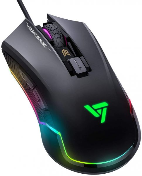 75023a29913 VicTsing Pro RGB Gaming Mouse Wired with 16.8 Million Chroma RGB ...