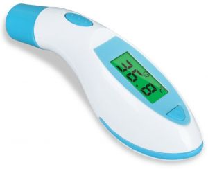 Non Contact Thermometer Digital Thermomet Brave Baby Infrared Forehead Thermometer