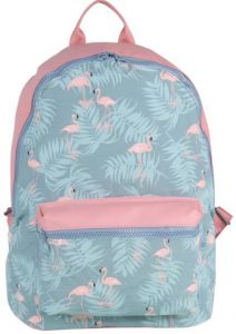 57fc70d2e576 Fashion LeisureSchool Backpack For Girls Student School Book Bag Printed  Flamingos Purse Women Daypack Casual Travel Bag