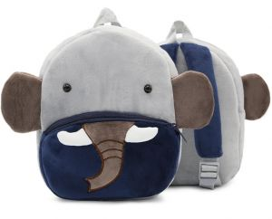 Kids Leash Bags Toddler Plush Backpack with Safety Harness Playful  Preschool Kids Snacks Bag for Little Children(0-36Mouth) Elephant 23ede5a5808