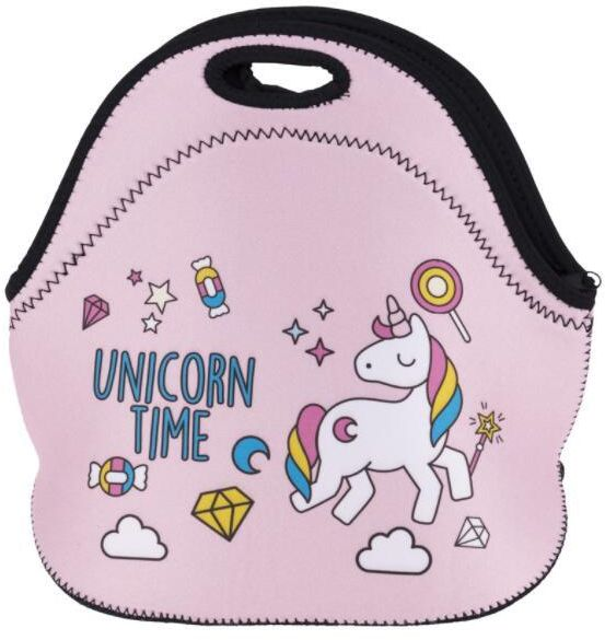 fb762acb60dd Unicorn Boys Girls Insulated Neoprene Lunch Bag Tote Handbag lunchbox Food  Container Gourmet Tote Cooler warm Pouch