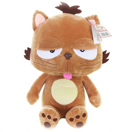 45cm Big Face Cat Dolls Big Face Stuffed Animal Toys Garfield Cat