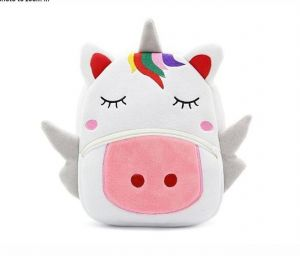 Child Unicorn Animal School Backpack Toddler Bag Plush Cartoon Mini Travel  Bag for Baby Girl Boy 001ea2ef39cad