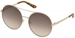 c096fd503e574 Guess Women s Sunglasses -Gold Brown Mirror-GU7559 32G60 - size 60-18-135mm