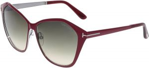 bda80d1a8608 Tom Ford Women s Gradient Lena FT0391-69Z-58 Pink Butterfly Sunglasses