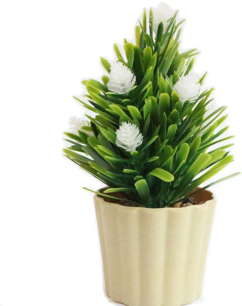 Simulation Potted Artificial Flowers Small Potted Home Crafts