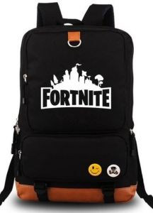 8747e6f1b162 Fortnite Series Classic Noctilucent Luminous Backpack Casual Everyday  Student School Bookbag Basic Travel Rucksack Light Weight Canvas Backpack  Unisex ...