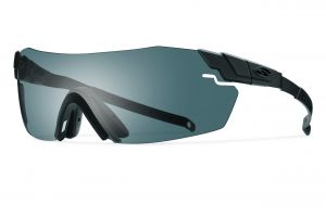 20c70387a1420 Smith Optics Elite Pivlock Echo Max Eyeshields Sunglass with Black Frame  and Gray Clear Ignitor Lenses