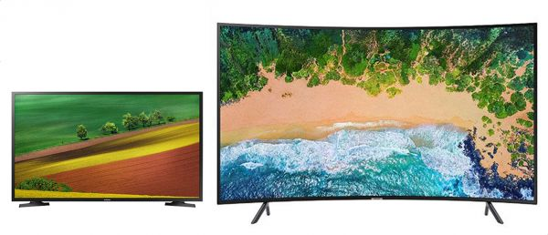 Samsung 65 Inch Uhd 4k Curved Smart Tv Nu7300 With Built In Receiver