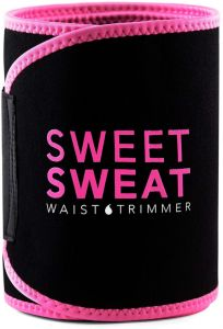 a4db813c26c Sweet Sweat Sports Research Premium Waist Trimmer for Men   Women Includes  Free Breathable Carrying Case for Body Shapering Tummy Control