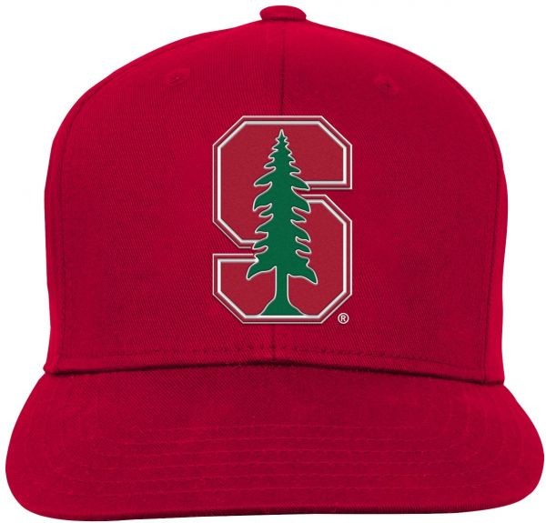 new style 43557 721ab ... france ncaa stanford cardinal youth boys team flat visor snapback hat  victory red youth one size