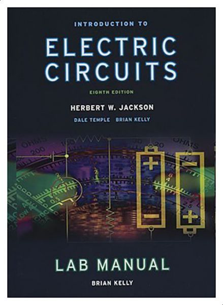 introduction to electrical circuits lab manual by herbert jacksonthis item is currently out of stock