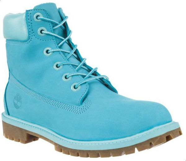 8106d2439981 Timberland A1RT3 Premium 6 Inch Water Proof Boot For Girls- Scuba Blue