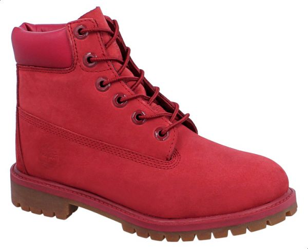 88bec37af12d Timberland A13HV Premium 6 Inch Water Proof Boot For Girls- Red