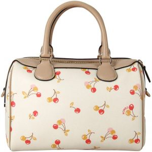 bef9785a6758 Coach Mini Bennett Satchel With Cherry Print F31388 IMCAH