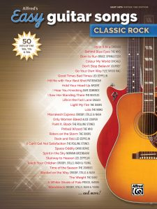 alfreds easy guitar songs classic rock 50 hits of the 60s 70s 80s - Classic Rock Christmas Songs