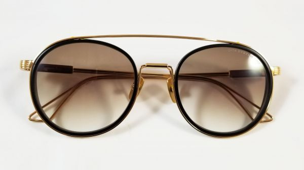 fb83a9ec8f78 Dita System Two sunglasses DTS 115 02 in Gold tone frame and Brown gradient  lens Unisex