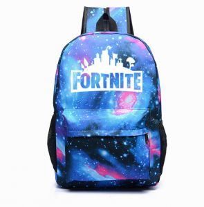 5746a5337a63 Fortnite Backpack College School Bookbag Anti Theft Luminous Travel Laptop  Bag