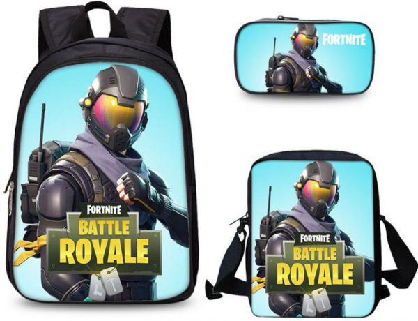 Souq Three Piece Fortnite Print 3d Cartoon Pattern Kindergarten