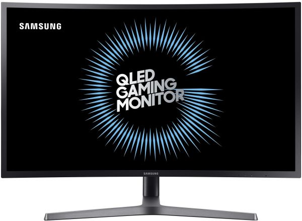 Samsung C27HG70 27-Inch HDR QLED Curved Gaming Monitor (144Hz / 1ms) Model  C27HG70QQM