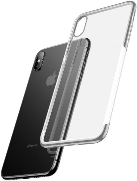 official photos 0fc6f b13b4 Baseus Shining Series Case for iPhone Xs Max - Silver