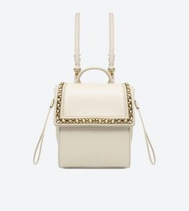 CHARLES   KEITH Chain Detail Push-Lock Backpack beddde02a5085