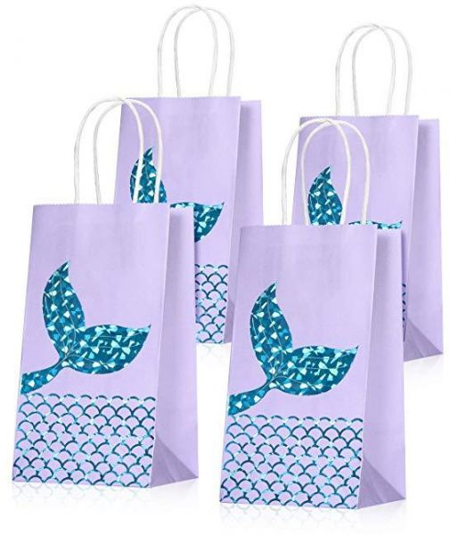 Set of 10 Mermaid Gift Bags Mermaid Party Supplies Favors Goodie Bag Glitter Treat Bags for Under the Sea Party Mermaid Gifts for Girls  sc 1 st  Souq.com & Set of 10 Mermaid Gift Bags Mermaid Party Supplies Favors Goodie Bag ...