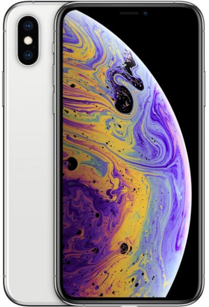 Apple iPhone Xs Max Dual SIM With FaceTime - 64GB, 4G LTE, Silver