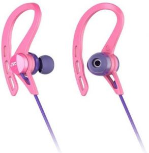 3a04ac25f9c JVC Wireless sports headphones with Pivot Motion Fit, Pink - HA ...