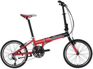 20 Inch Lamborghini Folding Bicycle 27 Speed Brake In A Metal Mixer