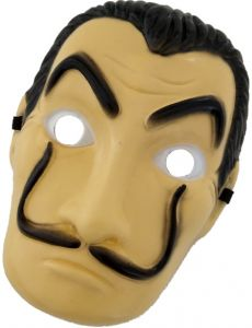 Money Heist The House of Paper La Casa De Papel Mask for Women Man Salvador  Dali Mask Halloween Carnival Christmas Cosplay Costume Dali Mask 21ec61221