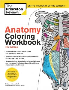 The Princeton Review Anatomy Coloring Workbook