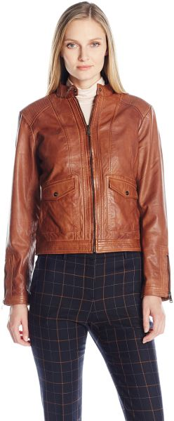 8f35b0f10c304 Bernardo Women s Sheep Kerwin Leather Jacket