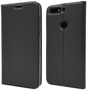 Huawei Honor 7C Back Stand Case - Grey