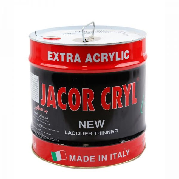 Jacor Cryl Thinner 17 Liters - Paint Diluter - ITALY