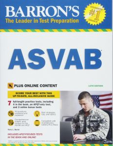 Barron's ASVAB Armed Services Vocational Aptitude Battery