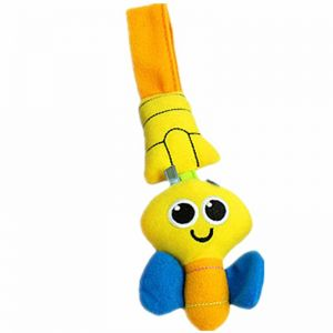 4dc4192232c7 Cartoon Infant Toys Mobile Baby Plush Toy Bed Wind Chimes Rattles Bell Toy  Baby Crib Bed Hanging Bells Toys