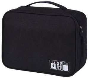 8c52321f03cb Universal Cable Organizer Bag for Travel and Houseware Storage