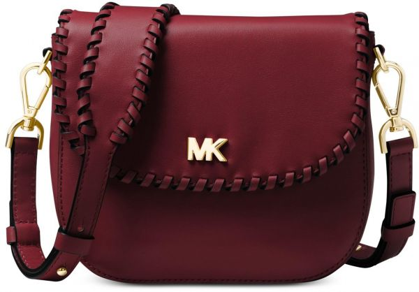 2a5330c96350 Michael Kors Half Dome Crossbody - Oxblood 32F8GF5CB0