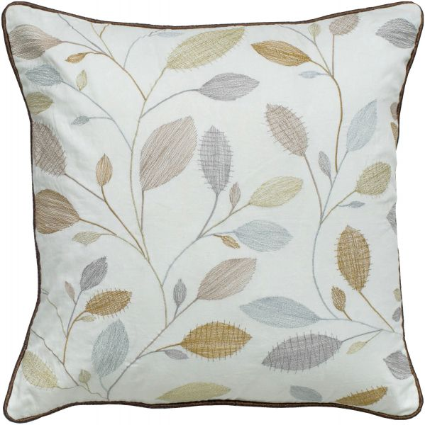 Rizzy Home T40 Embroidery And Cording Decorative Pillow 40 By 40 Adorable Decorative Cording For Pillows