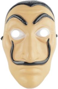 5e00f1dc1 Face Mask La Casa De Papel Mask Salvador Dali Mascara Masque Money Heist  Cosplay Props Toy